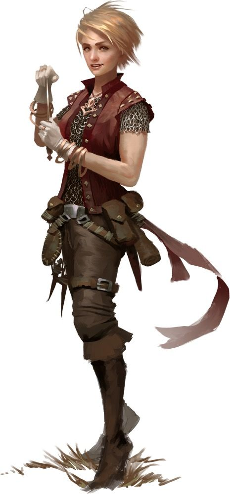 RPG Female Character Portraits : Photo                                                                                                                                                     More