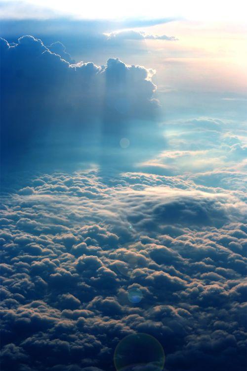 Above the clouds by Emilia Ungur