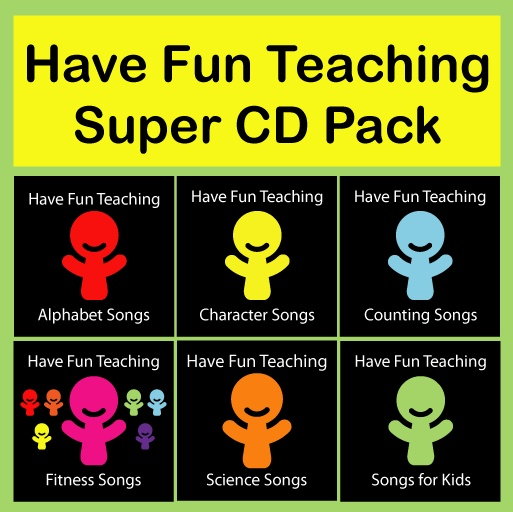 Songs for teachers: you can listen to all online or buy cd's