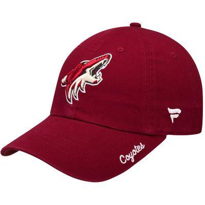 Women's Fanatics Branded Garnet Arizona Coyotes Fundamental Adjustable Hat