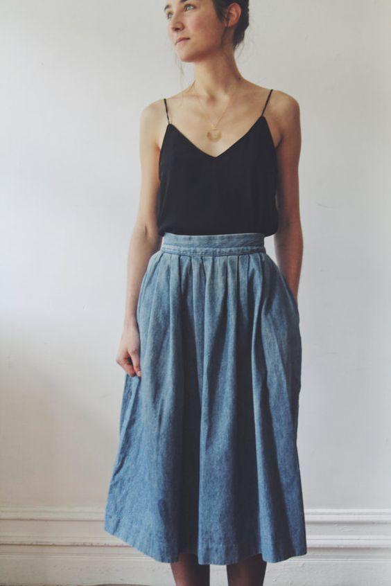 mid skirt//inspired...