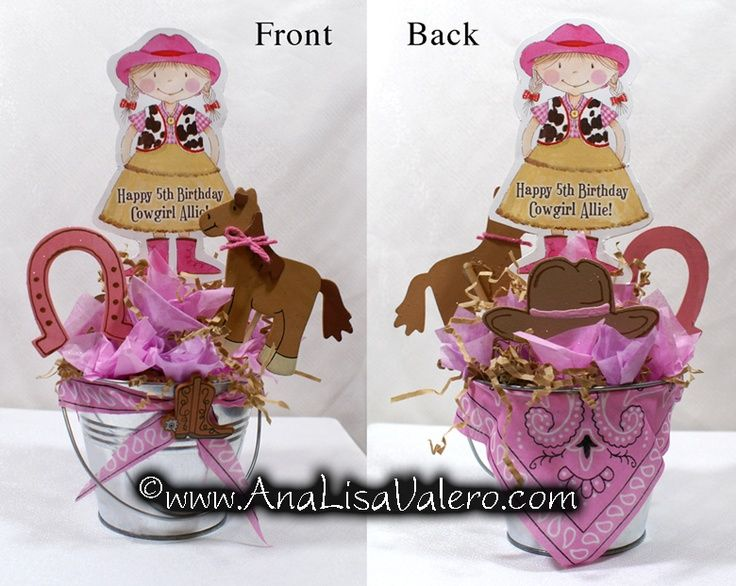 Perfect Cowgirl Centerpieces | Cute Cowgirl Centerpiece Idea | Baby Shower