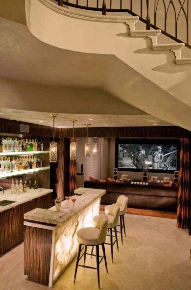 Charming 50 Stunning Home Bar Designs