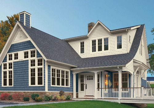 Not A Big Blue Fan But This Mixed Siding Is Attractive