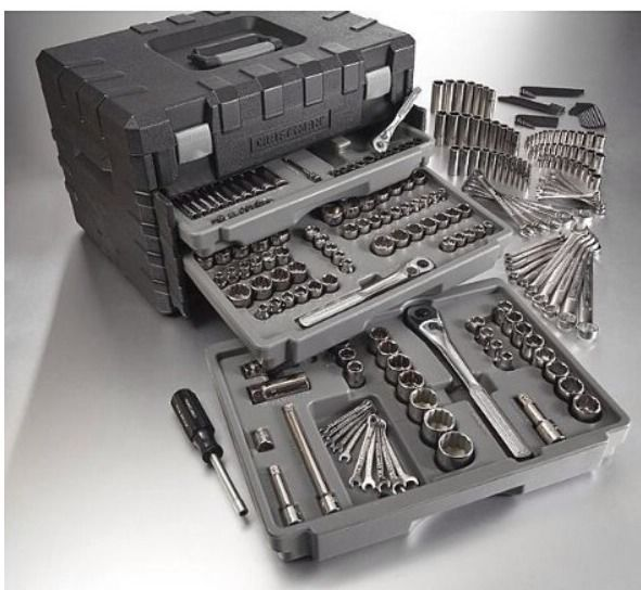 BRAND NEW! Craftsman 250 Pc. Mechanics Tools Set With 3 Drawer Case #Craftsman