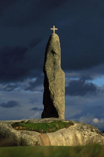 Menhir de Men-Marz - Brignogan-Plages, Finistère (France)