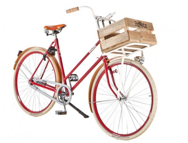 Roetz-Bikes creates stylish city-bikes in a responsible way.