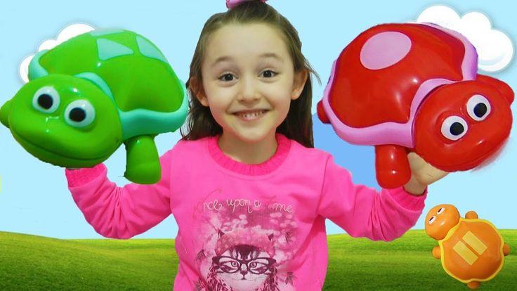 ÖYKÜ ÇOK ŞAŞIRDI Educational children's toy with learn colors - Play time