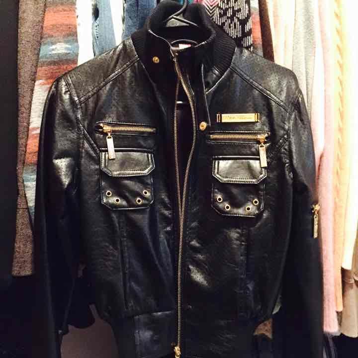 Female Leather Biker Jacket - Mercari: Anyone can buy & sell