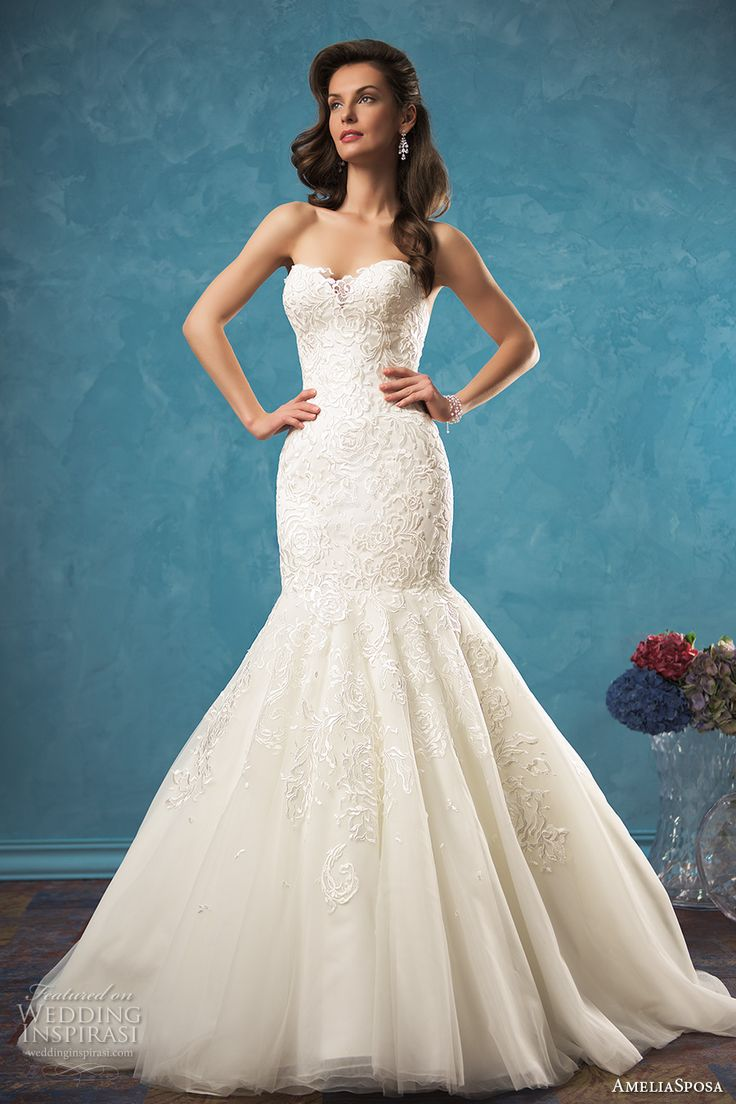 1073 best Wedding Dresses images on Pinterest | Groom attire, Gown ...