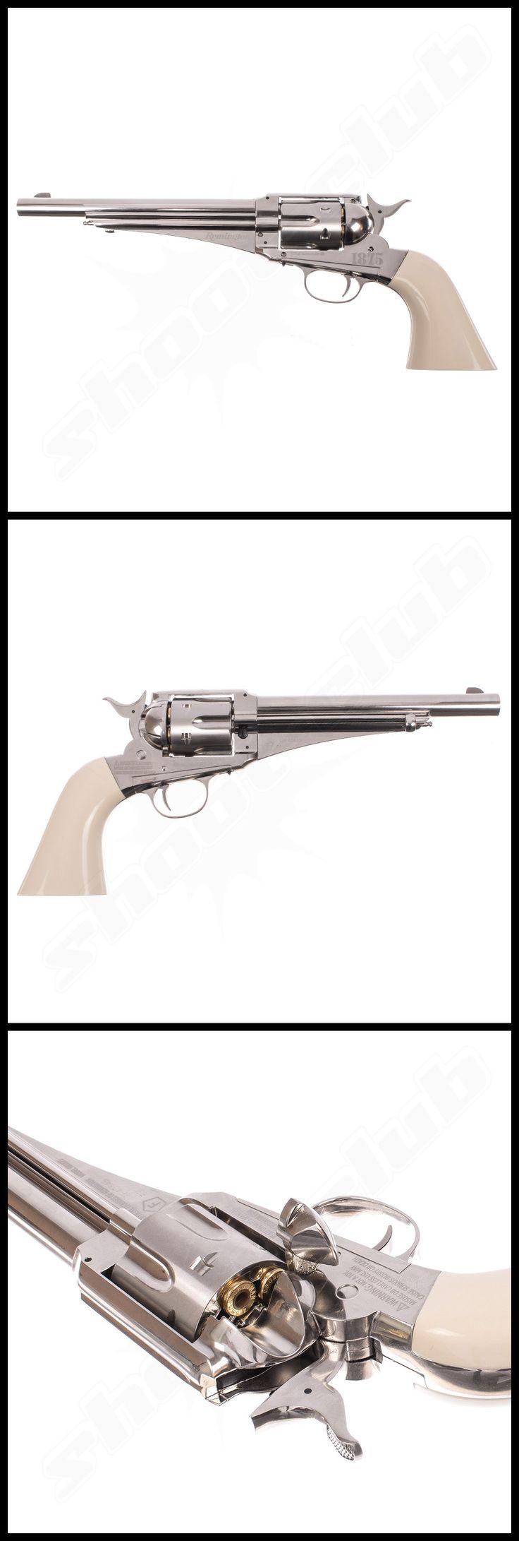 Remington 1875 Co2 Revolver im Kal. 4,5mm Diabolos    - weitere Informationen und Produkte findet Ihr auf www.shoot-club.de -    #shootclub #guns #revolver