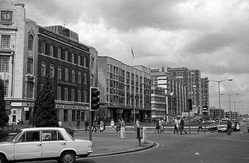 Croydon Wellesley rd circa 1981