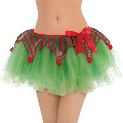 Elf Tutu for Women - Party City