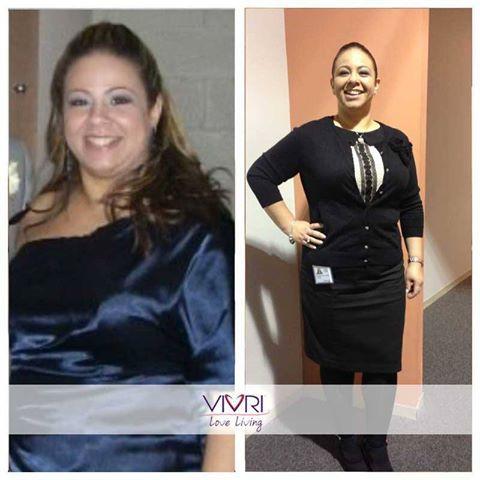 Felicidades Wendy por cambiar tu estilo de vida #VIVRI #RetoVIVRI #LifeGetsBetter #AmoVIVRI