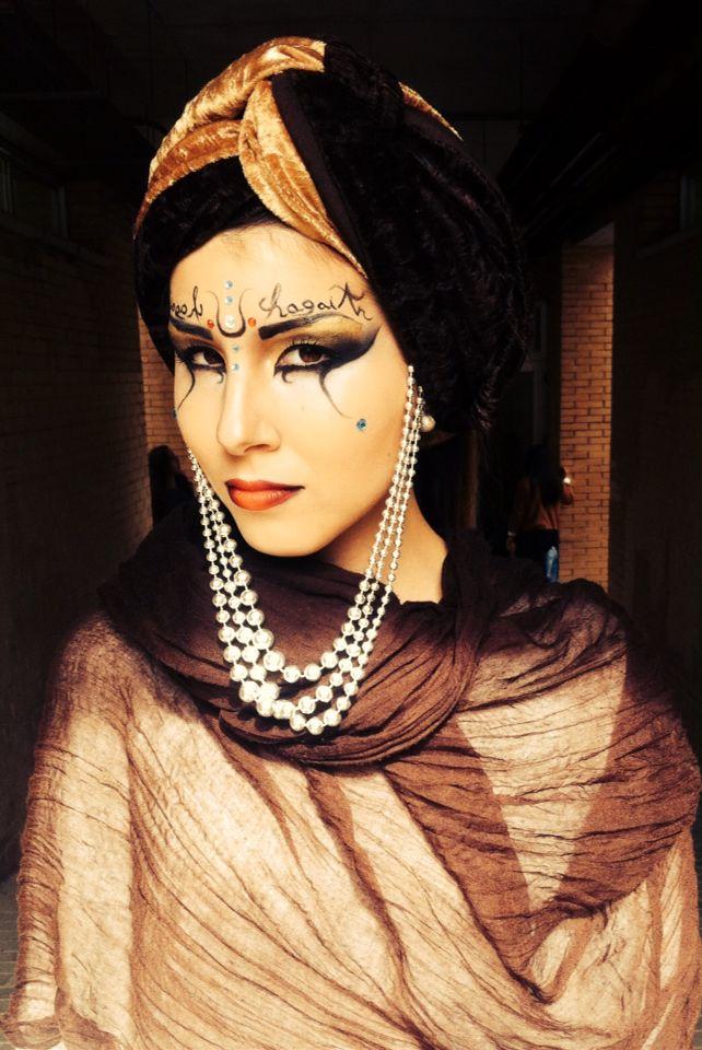 Make up árabe caracterización