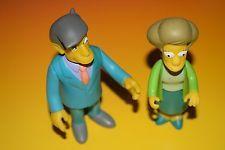 The Simpsons Toys Principal Skinner & Teacher Edna Krabappel toy lot