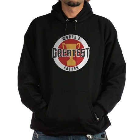 WORLDS GREATEST FATHER Hoodie on CafePress.com.com #fathers #dad #fathersday