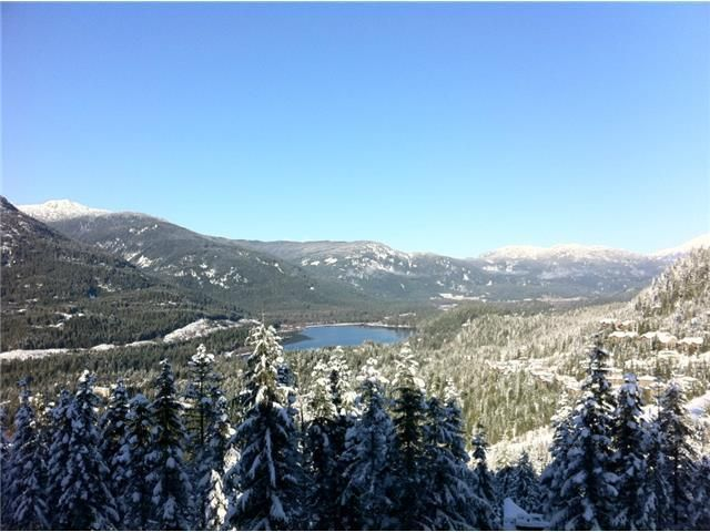 View from 2951 High Point Drive, Chalet   Whistler Real Estate