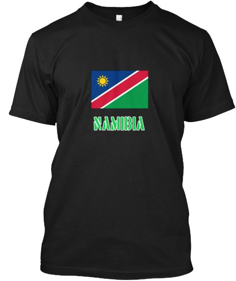 Namibia Flag Stencil Green Design Black T-Shirt Front - This is the perfect gift for someone who loves Namibia. Thank you for visiting my page (Related terms: I Heart Namibia,Namibia,Namibian,Namibia Travel,I Love My Country,Namibia Flag, Namibia Map,Namibia  #Namibia, #Namibiashirts...)