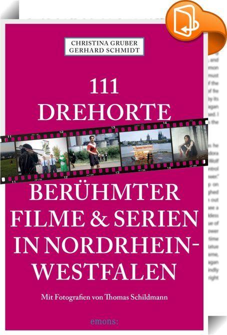 111 Drehorte berühmter Filme & Serien in Nordrhein-Westfalen    :  Film- und Fernsehland Nummer eins in Deutschland ist Nordrhein-Westfalen. Hier werden Hollywood-Blockbuster ebenso gedreht wie Daily Soaps, packende Krimireihen oder Event-Movies fürs Fernsehen. Die schönsten Drehorte der Kinohits und Lieblingsserien, die Storys hinter den Kulissen finden Sie in diesem Buch. Und es erklärt, wie Sie zur Lindenstraße kommen, wo »Tatort«-Schimanski einen trinken ging und warum London, Pari...