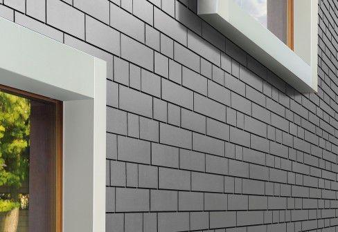 Eternit switzerland fiber cement panels small format for Fiber cement siding brands