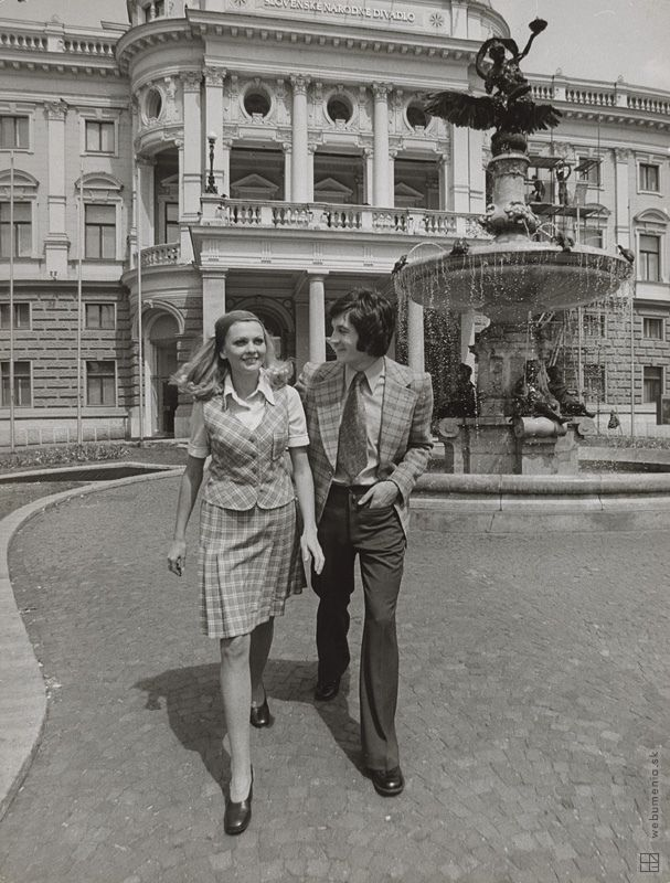 Karol Kállay: Fotografie pre časopis Móda IV.:1974