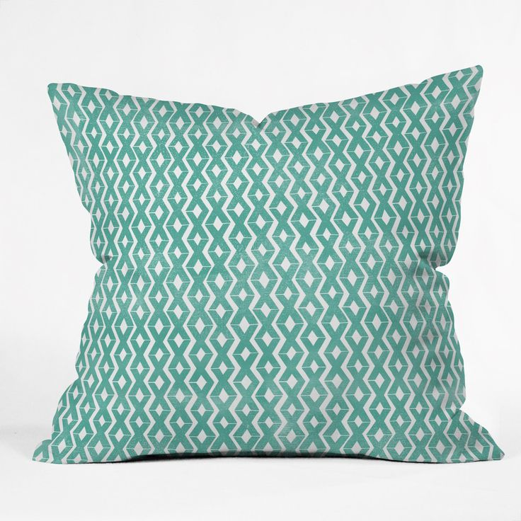 Loni Harris Summer Diamonds Outdoor Throw Pillow | DENY Designs Home Accessories