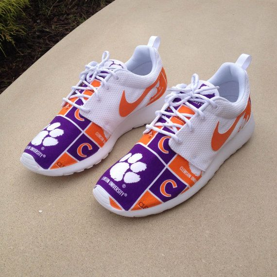 Custom Nike Roshe One Clemson Tigers by customsxcario on Etsy