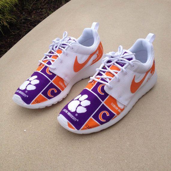 Custom Nike Roshe One Clemson Tigers by customsxcario on Etsy