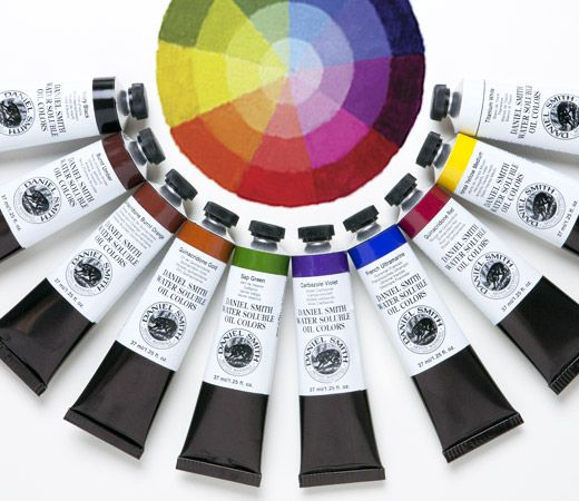 DANIEL SMITH Water Soluble Oil Paint - 37ml Tubes