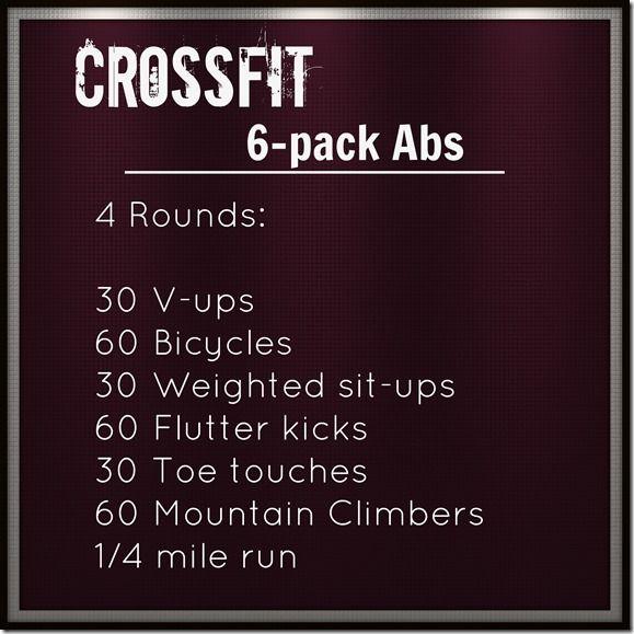 Crossfit Ab Workout - Eat:Watch:Run