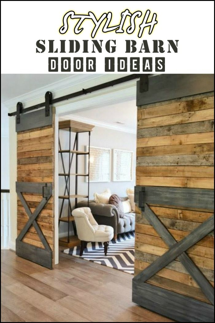 How Does A Rustic Barn Door Sound? If You Like The Idea, Then You Amazing Design