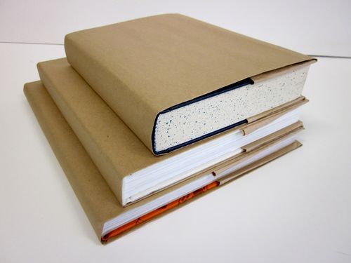 How To Make Old Book Cover : Best ideas about paper bag book cover on pinterest