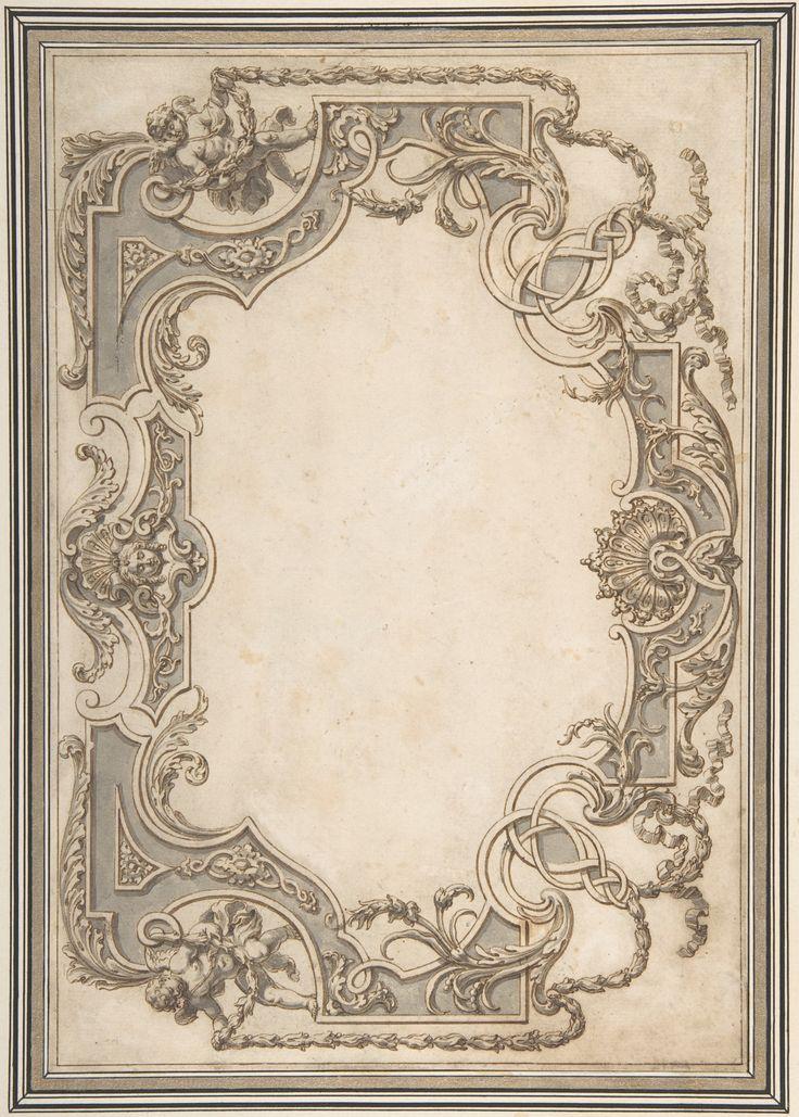 Jean Berain   Design for a Ceiling   The Metropolitan Museum of Art