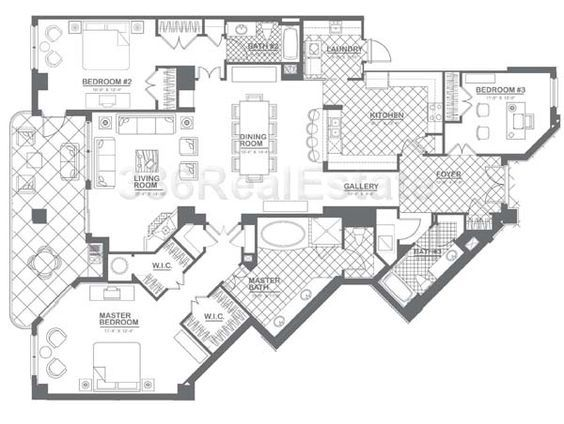 1000 Images About Home Floorplans Condos On Pinterest