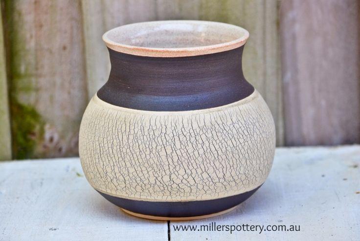 Australian handmade ceramic vase by www.millerspottery.com