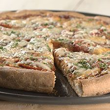 Gluten-Free Pizza Crust: Crisp and chewy, this is a wonderful base for your favorite toppings. Note: you must use a stand mixer or electric hand mixer to make this dough; mixing by hand doesn't do a thorough enough job. Tips from our bakers:  Thin-crust is the way to go with this recipe. Since the dough is so soft, it tends to spread and become thinner as it bakes, even if it starts out thicker.