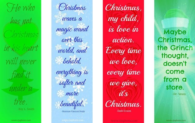Free Christmas Printables With Favorite Movie Quotes: 17 Best Images About Free Printable Bookmarks On Pinterest
