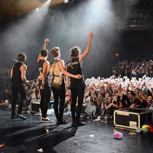 5 Seconds Of Summer Cancel More One Direction Where We Are Tour Dates! I'm so proud of them for being able to perform at the VMA's but I feel bad for the fans who were going to see them on those tour dates. Any one of my followers going to those tour dates? -D.F.L