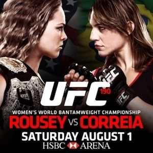 UFC 190 Results: Tonight's winners plus how to watch online, betting odds and fight times