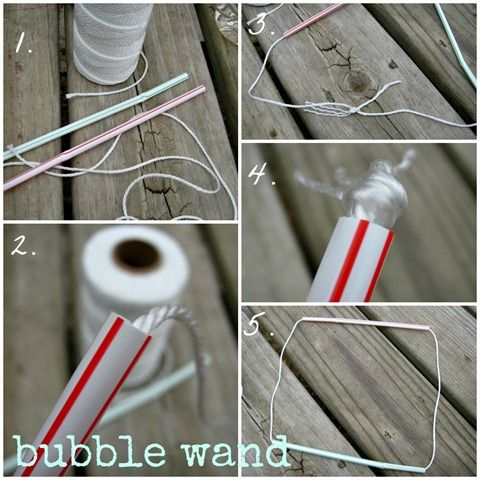 Ginger snap crafts how to make giant bubbles tutorial for Bubble wand