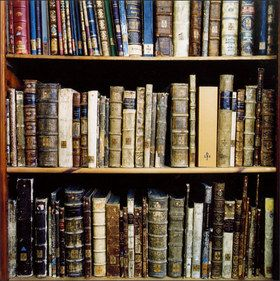 three shelves of vintage books: Worth Reading, Vintage Books, Antiques Books, Home Libraries, Books Lists, Reading Lists, Libraries Books, Must Reading Books, Old Books