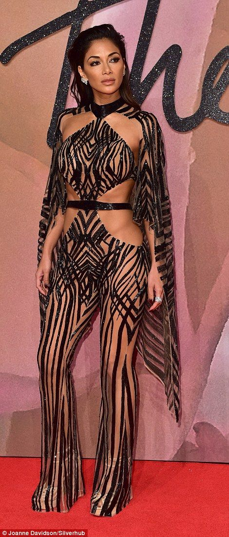 Not been in the news much, Nicole Scherzinger?  The Julian McDonald catsuit left nothing to the imagination...