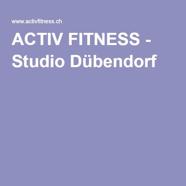 ACTIV FITNESS - Studio Dübendorf