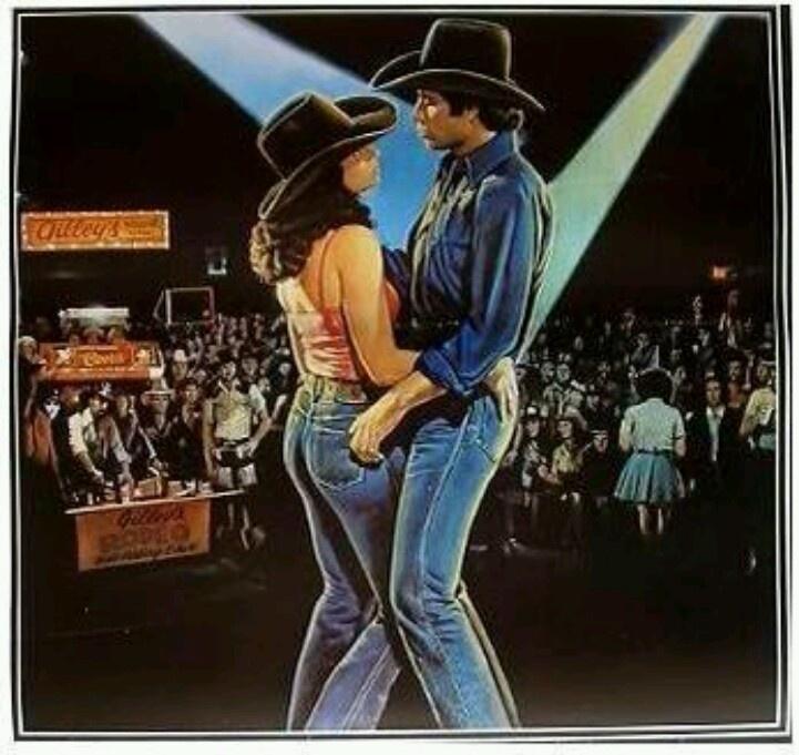 Urban cowboy. My fav movie of all time. Urban cowboy
