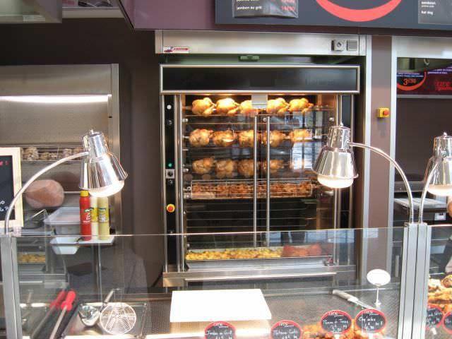 Commercial Oven Electric Rotisserie Iteb4 Alpina