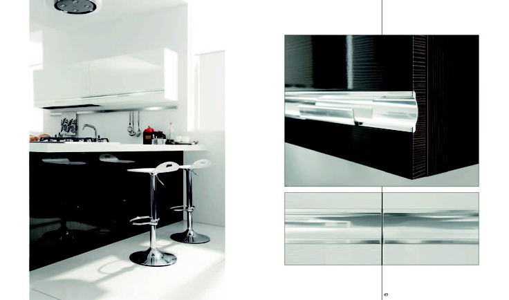 TENES EVO is easy to be recognized, because of the special and unique handle which makes every new project something special.