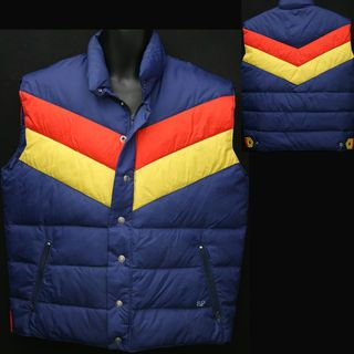 Vest jackets...Yep, I had one just like this, and my arms always froze!  :-)