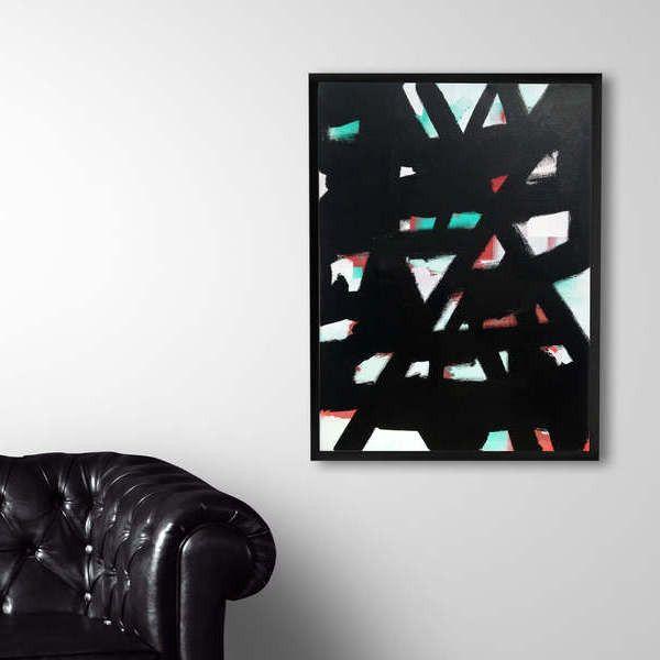 www.kissmyartshop.com Original acrylic painting Abstract art
