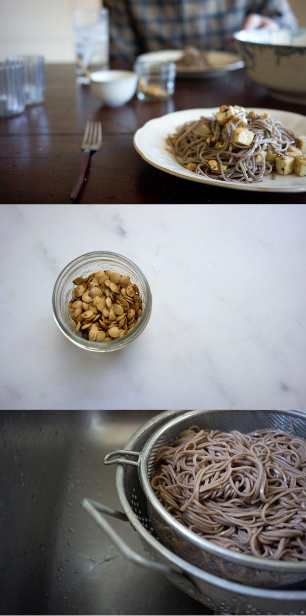 ginger soba noodles